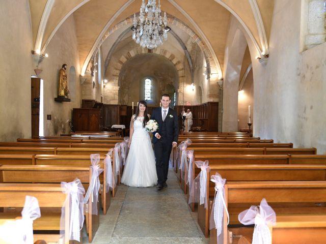 Le mariage de Valentin et Amélie à Massieux, Ain 29