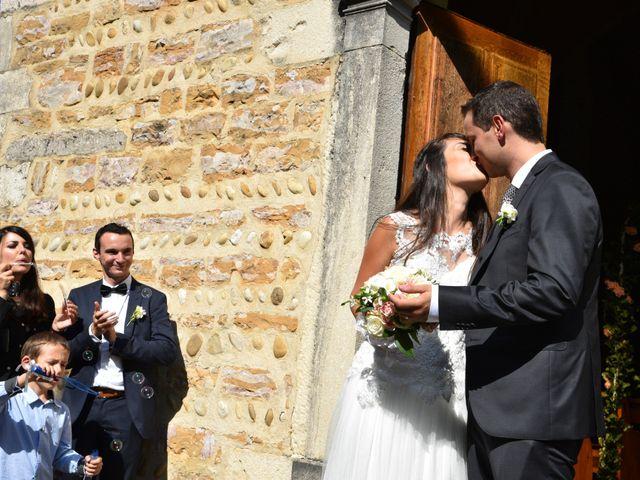 Le mariage de Valentin et Amélie à Massieux, Ain 30