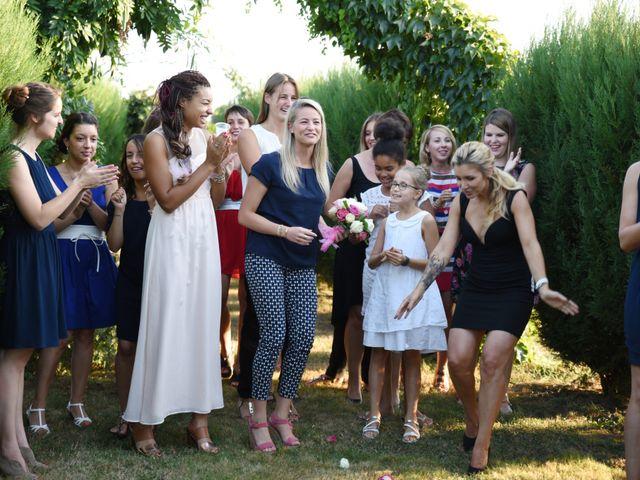 Le mariage de Valentin et Amélie à Massieux, Ain 40