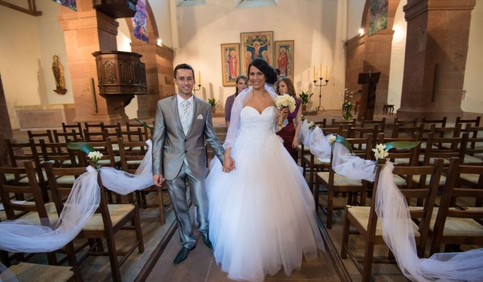 Le mariage de Maxime et Prisca à Steinbrunn-le-Bas, Haut Rhin