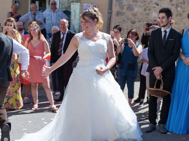 Le mariage de Jérémie et Mélanie à Masseret, Corrèze 15