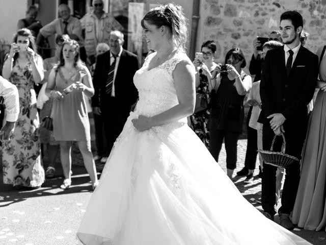 Le mariage de Jérémie et Mélanie à Masseret, Corrèze 16
