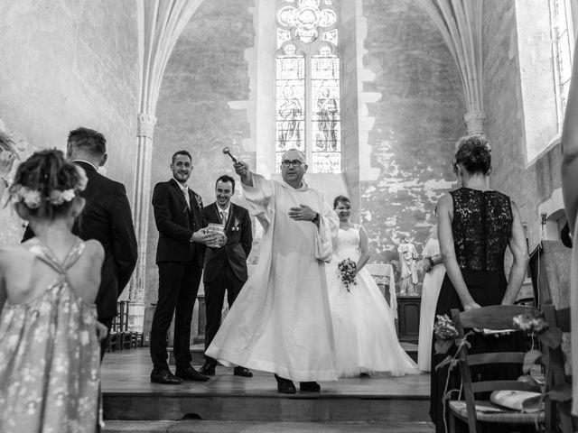 Le mariage de Jérémie et Mélanie à Masseret, Corrèze 17