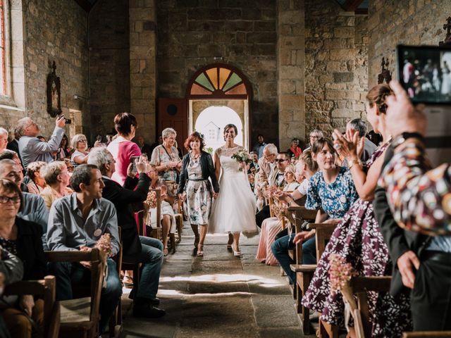 Le mariage de Nicolas et Sabrina à Plouégat-Moysan, Finistère 9