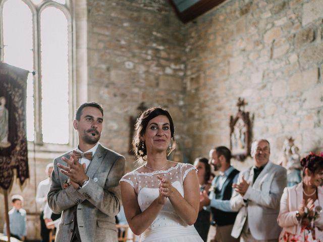 Le mariage de Nicolas et Sabrina à Plouégat-Moysan, Finistère 35