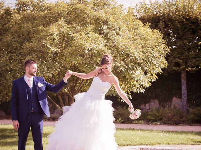 Le mariage de Jeremy et Justine à Châtenoy-le-Royal, Saône et Loire 4