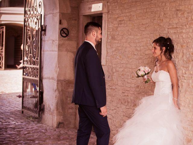 Le mariage de Jeremy et Justine à Châtenoy-le-Royal, Saône et Loire 8