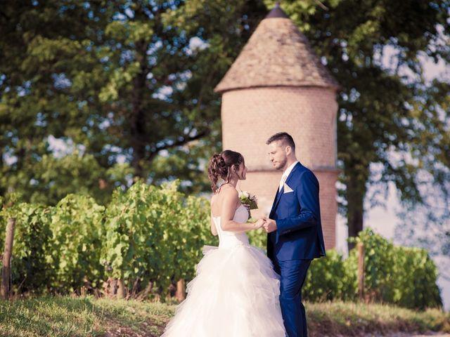 Le mariage de Jeremy et Justine à Châtenoy-le-Royal, Saône et Loire 11