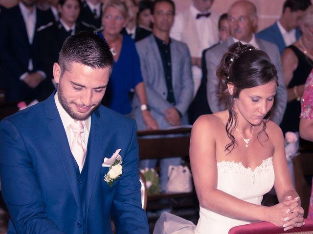 Le mariage de Jeremy et Justine à Châtenoy-le-Royal, Saône et Loire 25