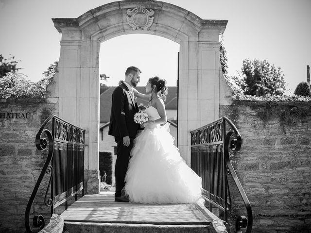 Le mariage de Jeremy et Justine à Châtenoy-le-Royal, Saône et Loire 32
