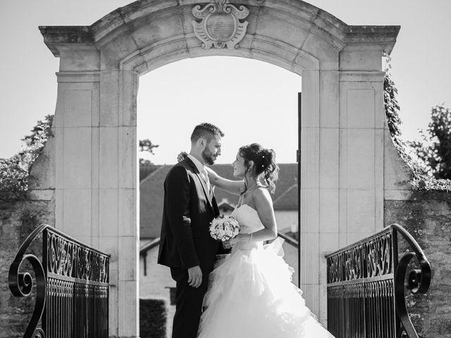 Le mariage de Jeremy et Justine à Châtenoy-le-Royal, Saône et Loire 35