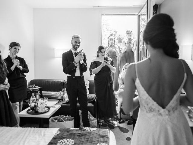 Le mariage de Rémi et Saadia à Saint-Gervais, Gironde 12