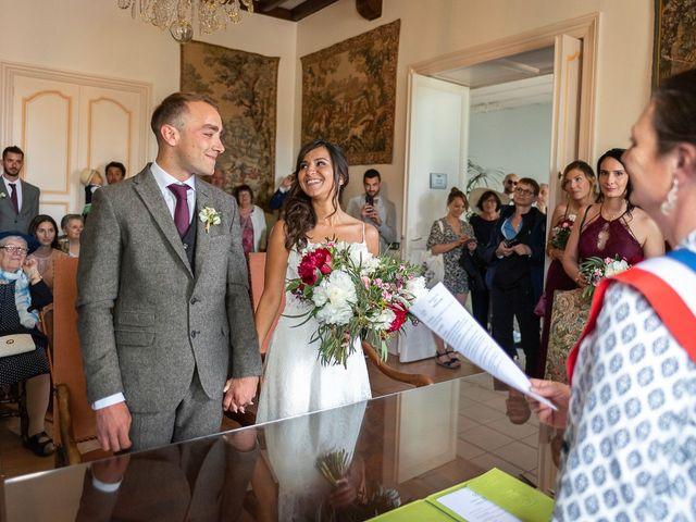 Le mariage de Rémi et Saadia à Saint-Gervais, Gironde 21