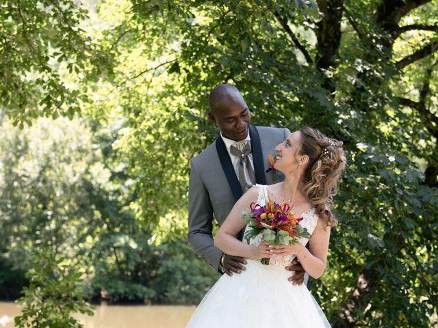 Le mariage de Ousmane et Elodie à Le Monastère, Aveyron 4
