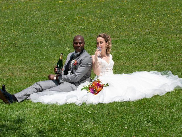 Le mariage de Ousmane et Elodie à Le Monastère, Aveyron 12