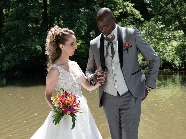 Le mariage de Ousmane et Elodie à Le Monastère, Aveyron 14