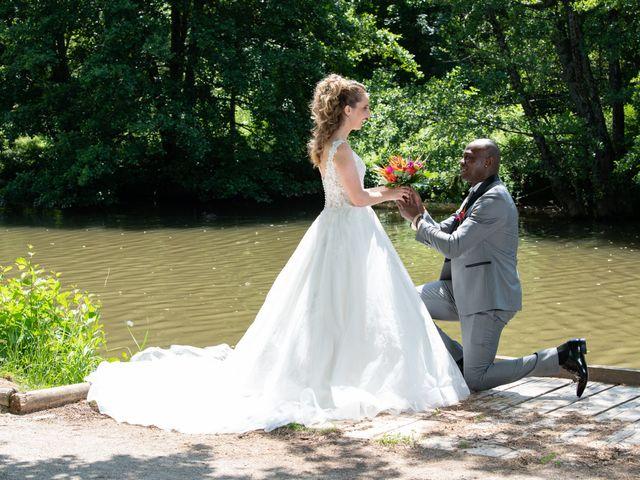 Le mariage de Ousmane et Elodie à Le Monastère, Aveyron 15