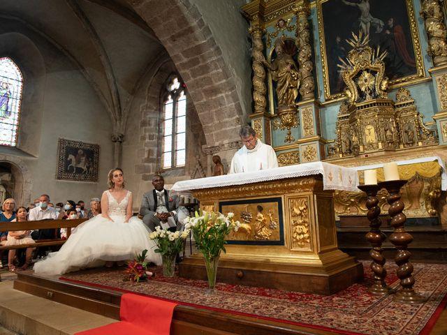 Le mariage de Ousmane et Elodie à Le Monastère, Aveyron 21