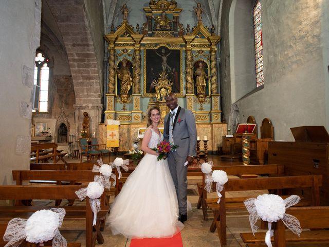 Le mariage de Ousmane et Elodie à Le Monastère, Aveyron 22