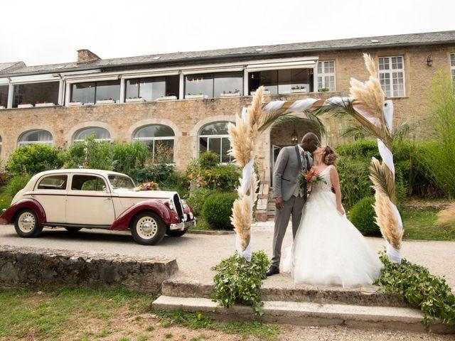 Le mariage de Ousmane et Elodie à Le Monastère, Aveyron 25