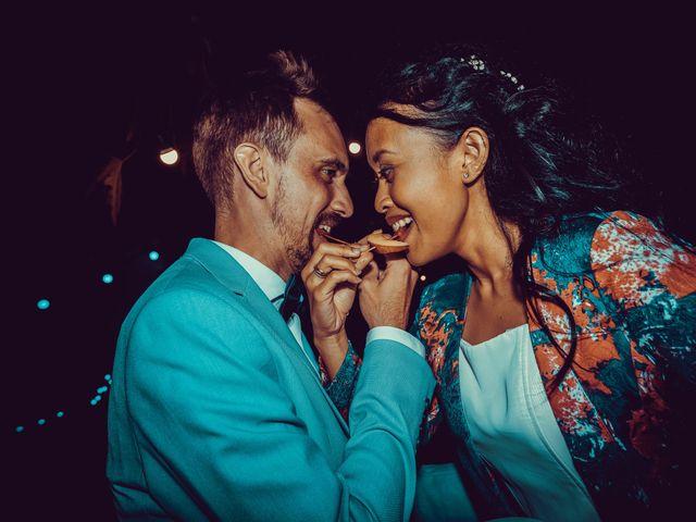 Le mariage de Julien et Nur à Montpezat, Gard 5