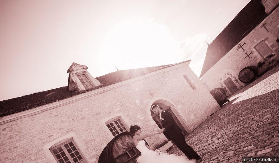 Le mariage de Jeremy et Justine à Châtenoy-le-Royal, Saône et Loire
