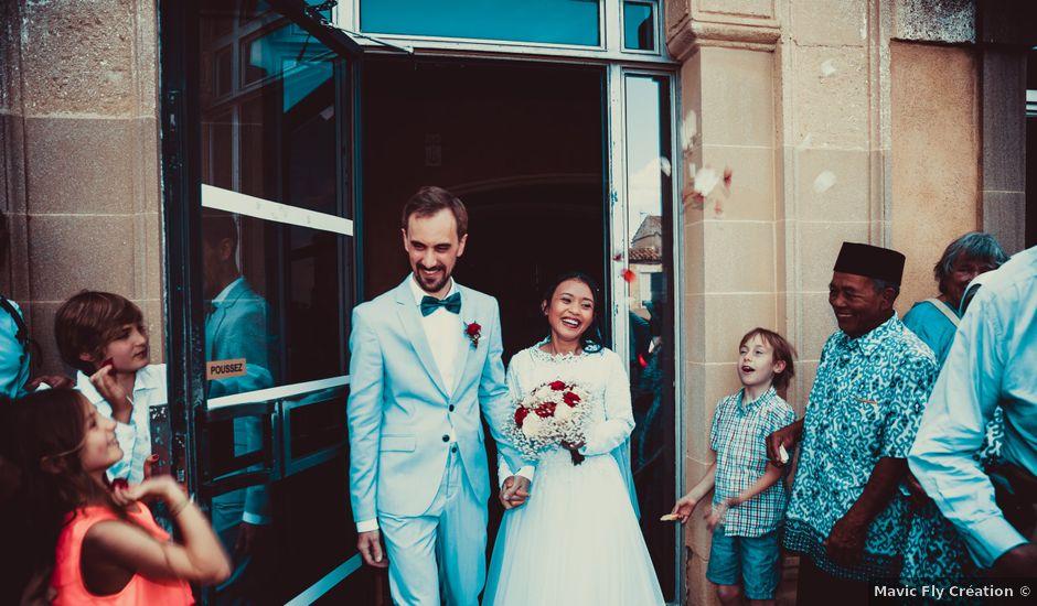 Le mariage de Julien et Nur à Montpezat, Gard
