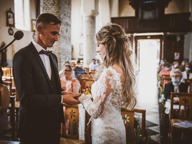 Le mariage de David et Margaux à Buysscheure, Nord 21
