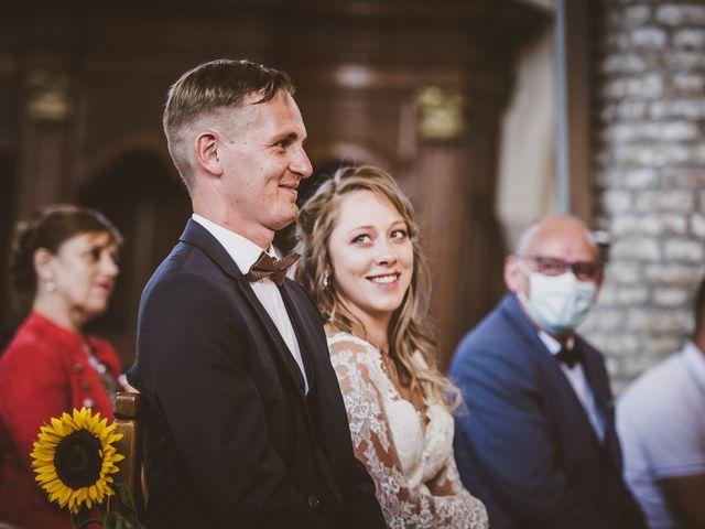 Le mariage de David et Margaux à Buysscheure, Nord 44