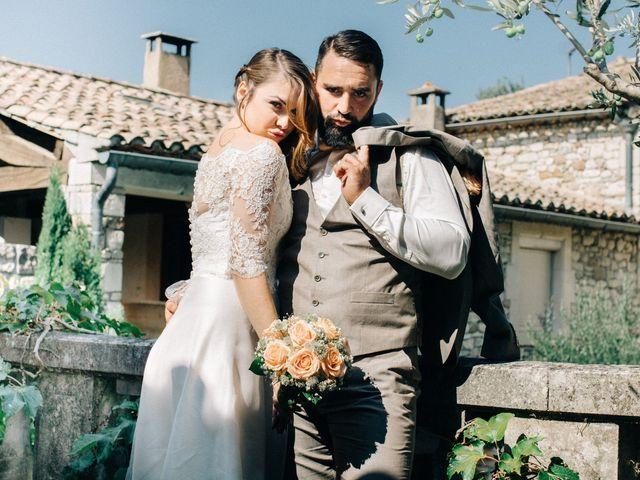 Le mariage de Cédric et Victorine à Allan, Drôme 23