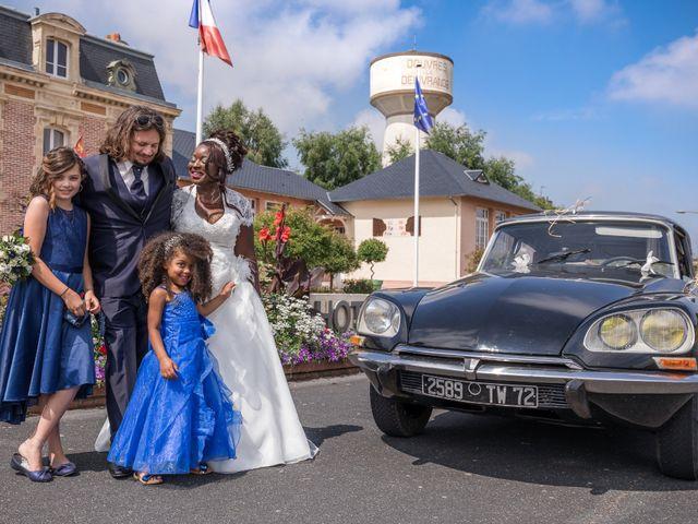 Le mariage de Matthieu et Mathilde à Douvres-la-Délivrande, Calvados 16