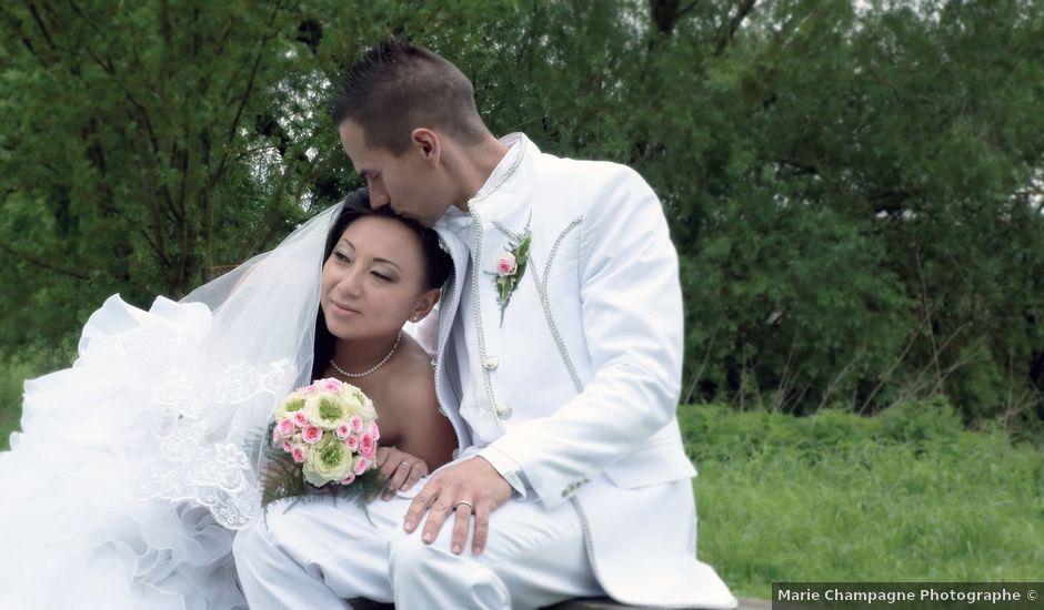 Le mariage de Mickaël et Julie à Dieuze, Moselle