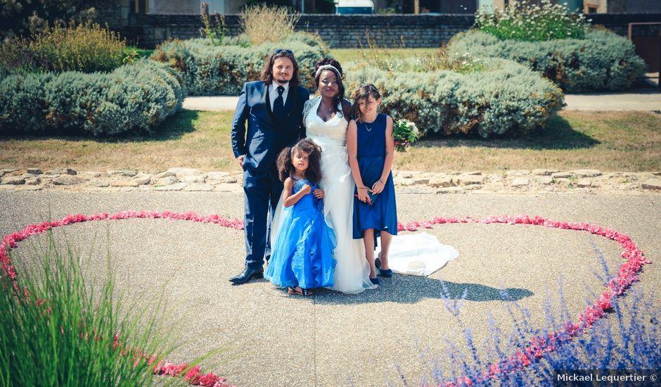 Le mariage de Matthieu et Mathilde à Douvres-la-Délivrande, Calvados