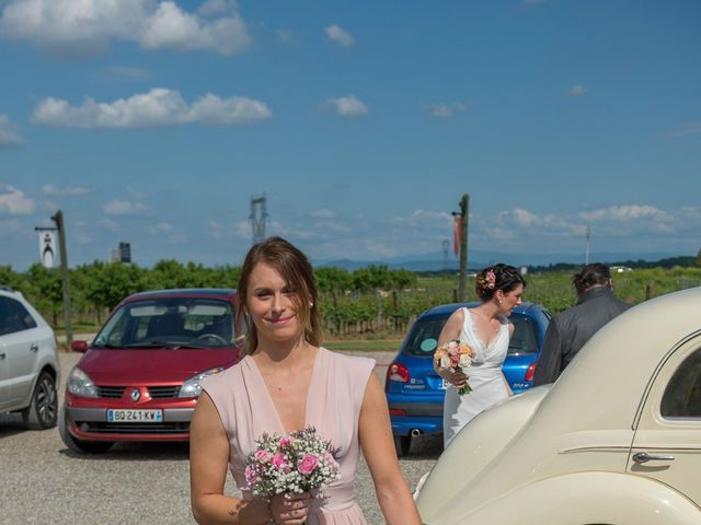 Le mariage de Jérémy et Elodie à Wettolsheim, Haut Rhin 6