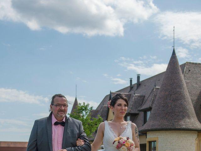 Le mariage de Jérémy et Elodie à Wettolsheim, Haut Rhin 8