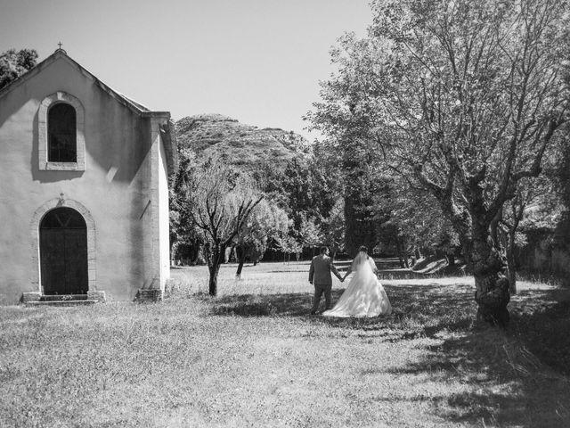 Le mariage de Jérémy et Alexandra à Les Vignères, Vaucluse 1