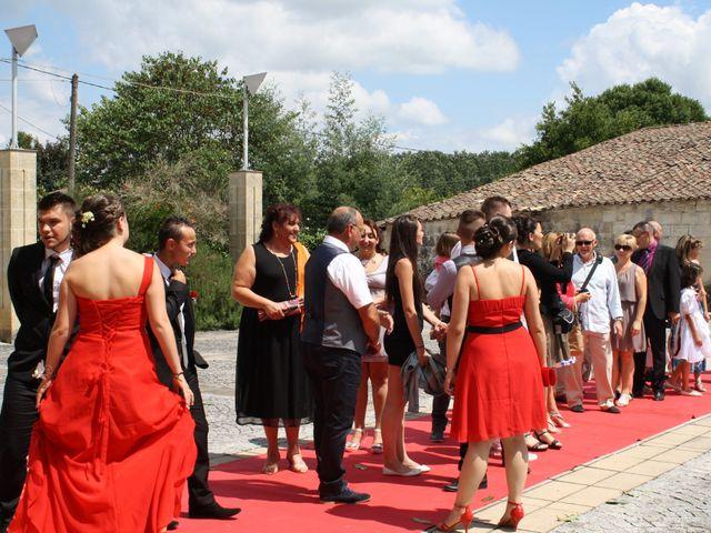Le mariage de Mickaël et Camille à Marcenais, Gironde 14