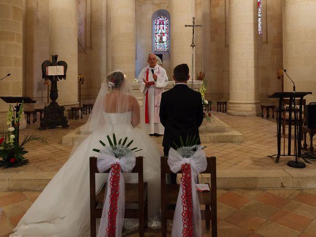 Le mariage de Mickaël et Camille à Marcenais, Gironde 33