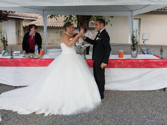 Le mariage de Mickaël et Camille à Marcenais, Gironde 39
