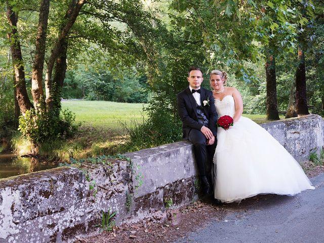 Le mariage de Mickaël et Camille à Marcenais, Gironde 42