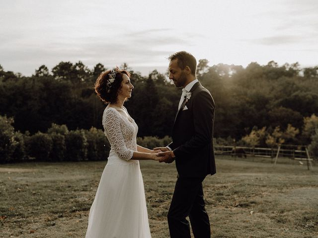 Le mariage de Rémi et Lucile à Campsegret, Dordogne 33