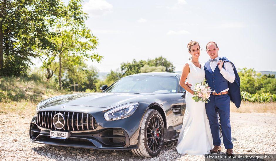 Le mariage de Thomas et Christelle à Saint-Bris-le-Vineux, Yonne