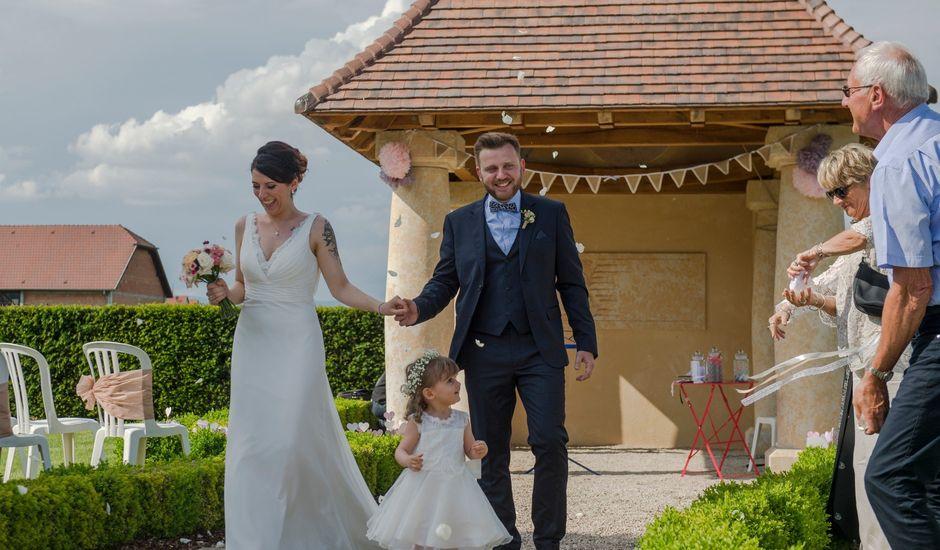 Le mariage de Jérémy et Elodie à Wettolsheim, Haut Rhin