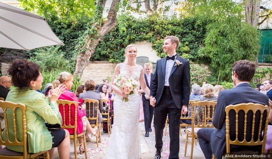 Le mariage de Zach et Dana à Paris, Paris
