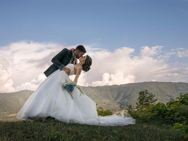Le mariage de Erwan et Maeva à Barraux, Isère 1