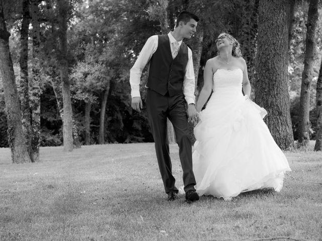 Le mariage de Ludovic et Alexandra à Civray, Vienne 10