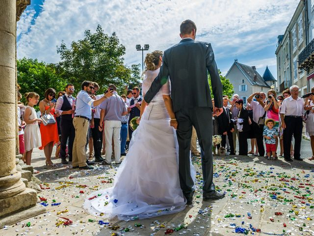Le mariage de Ludovic et Alexandra à Civray, Vienne 22