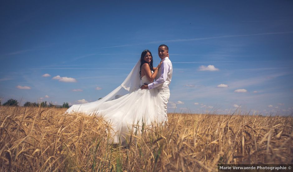 Le mariage de Pablo et Marine à Le Plessis-aux-Bois, Seine-et-Marne