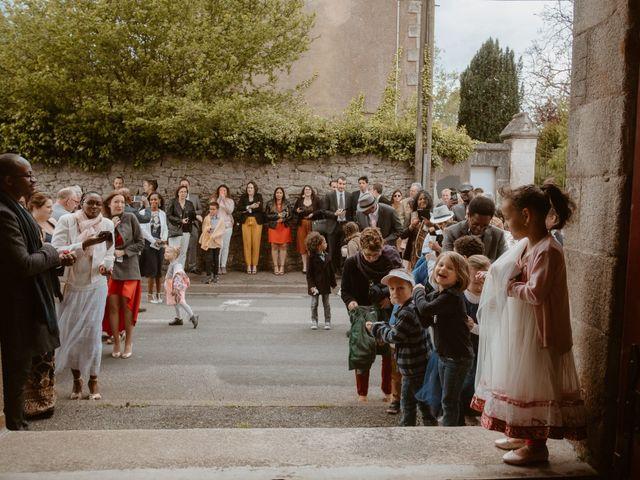 Le mariage de Xavier et Babita à Notre-Dame-des-Landes, Loire Atlantique 35