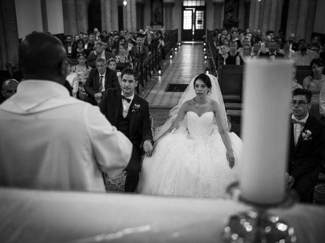 Le mariage de David et Valentine à Moineville, Meurthe-et-Moselle 14